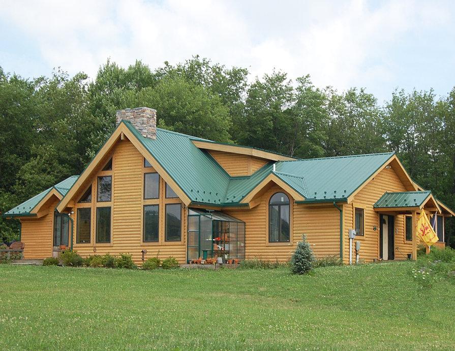 Pittsburgh Log Home Plans Timberwood