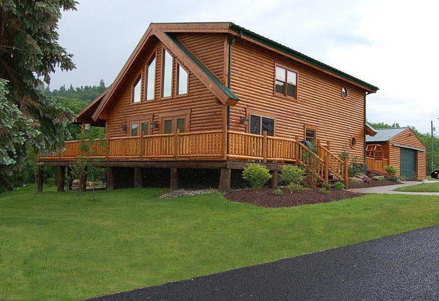 Pittsburgh Log Home Plans