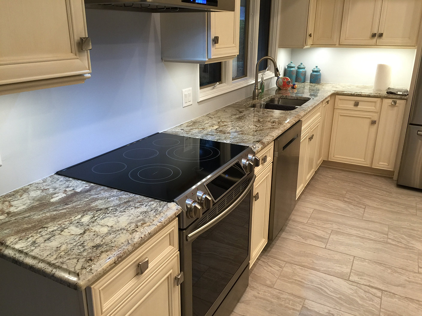 Paradise granite marble for Kitchen cabinets jimmy carter blvd