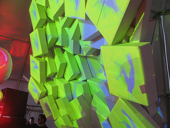 Projection Mapped Set