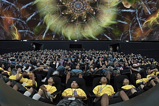 Planetarium Dome Projection