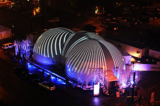Dome Exterior Projection.