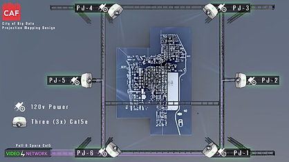 Projector Layout - Chicago Model