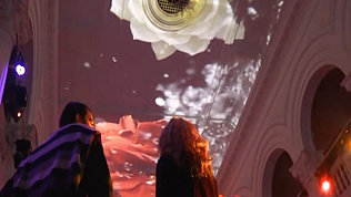 Immersive Ceiling Projection