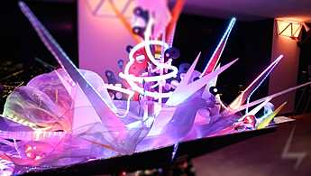 Interactive LED Sculpture