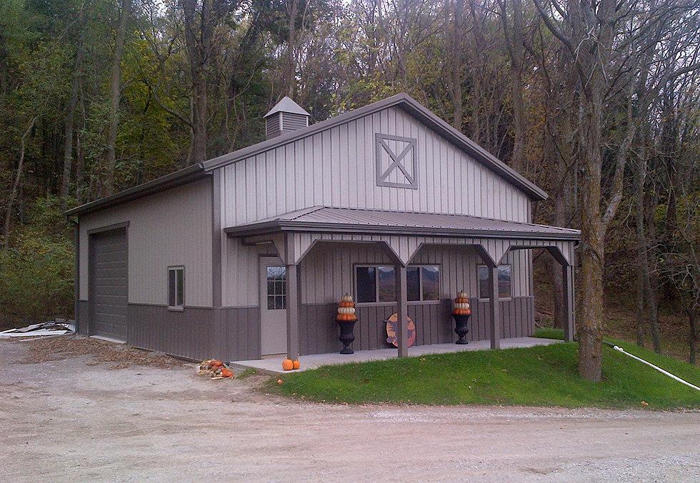 Built rite buildings shop farm buildings for Farm shop with living quarters plans