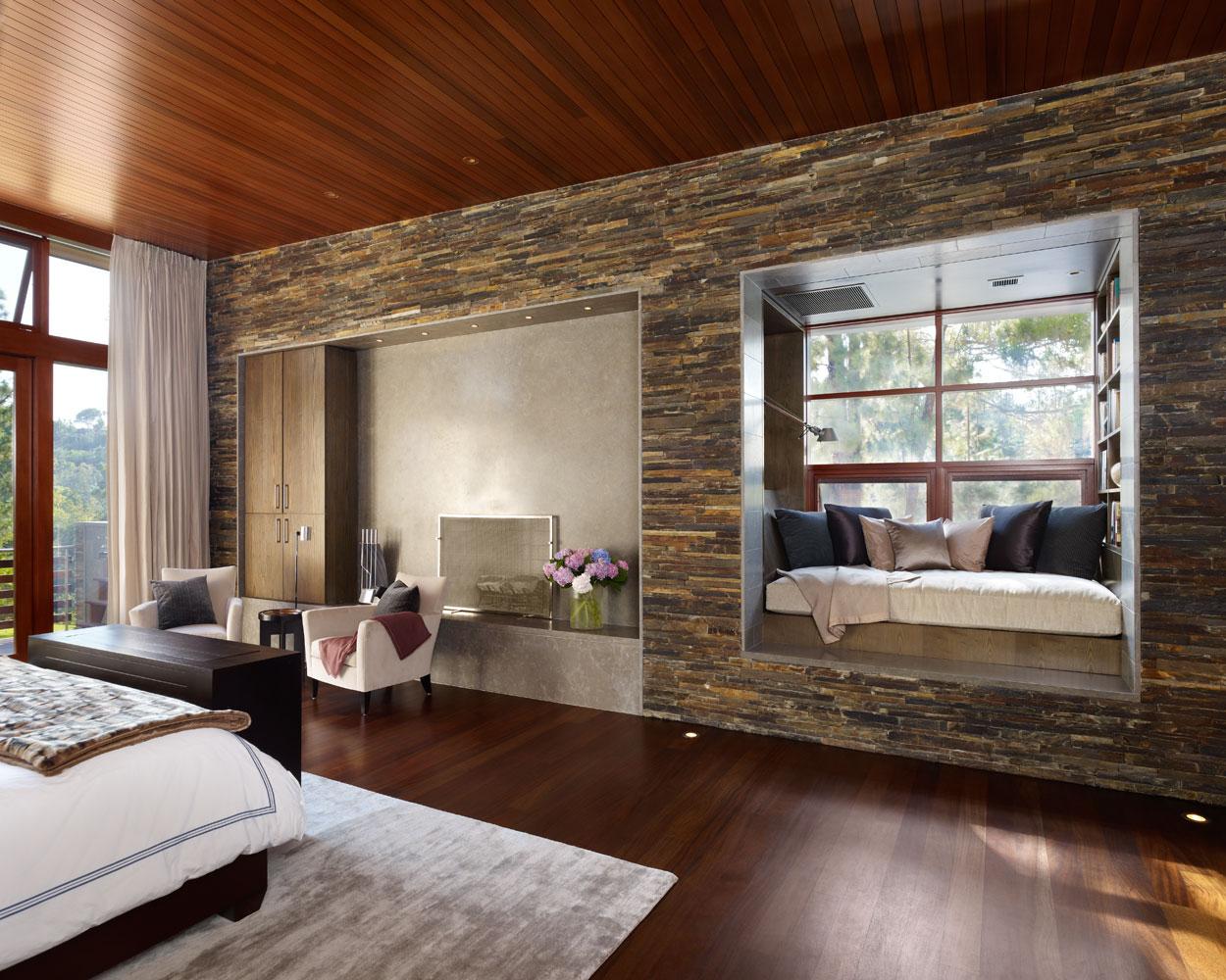 Дизайн стен в доме фото