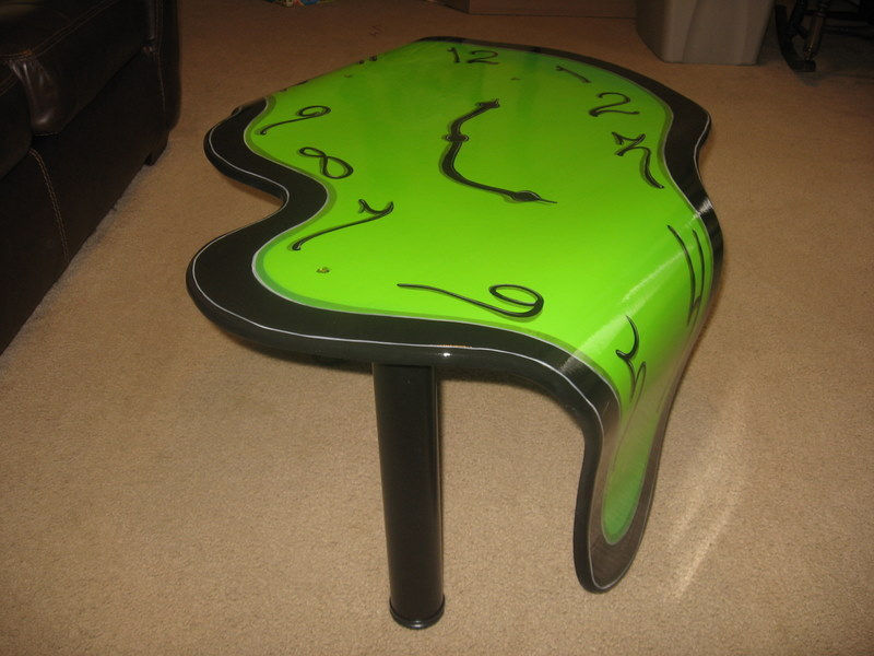 Melting Clock Coffee Table