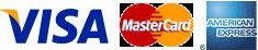 visa,master card y american express logo