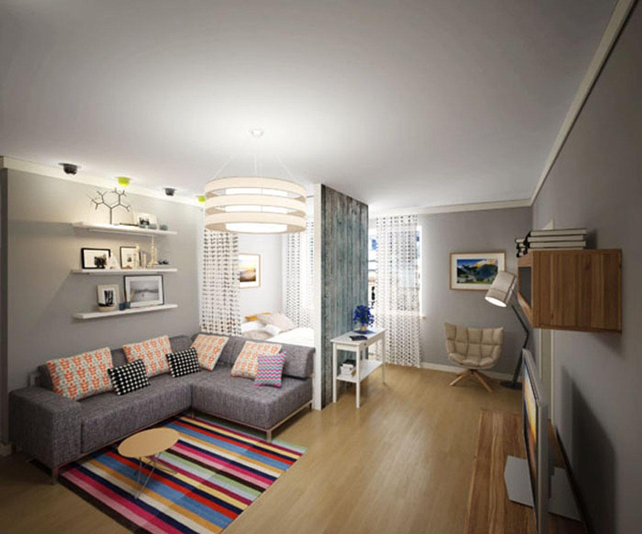 Дизайн 3х комнатной квартиры брежневки в Санкт-Петербурге