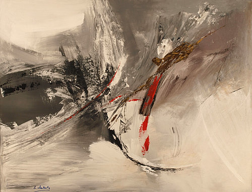 Eve charlouty artiste peintre abstrait figuratif nature for Peintres abstraits