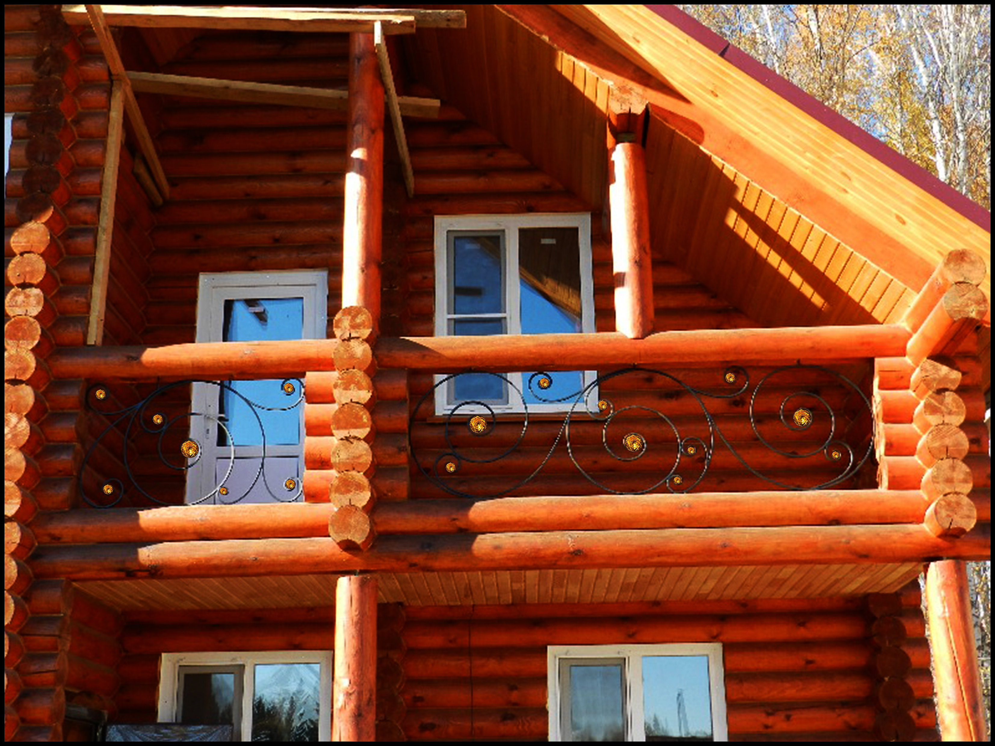 Кованые балконы - фото ковки - фото кованых и сварных металл.