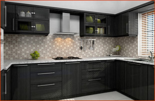 Venezia Stainless Steel Finish Modular Kitchens Kerala Bangalore
