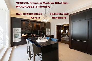 Modern Kitchen Kerala venezia stainless steel finish modular kitchens - kerala & bangalore