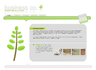 World Wide Solutions Template - A professionally designed Flash template perfect for the small business. It offers easy to navigate sections and plenty of room to display your unique text, services, corporate colors and images. Simply customize with our drag & drop publishing wizard and increase your online presence.