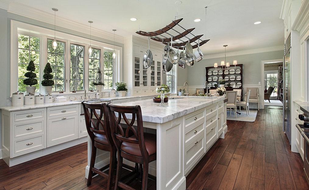 contemporary white kitchen - Custom Kitchen Cabinets San Diego