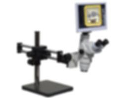 HD8TR 3x-300x HD Digital Micrscope with Eyepiece