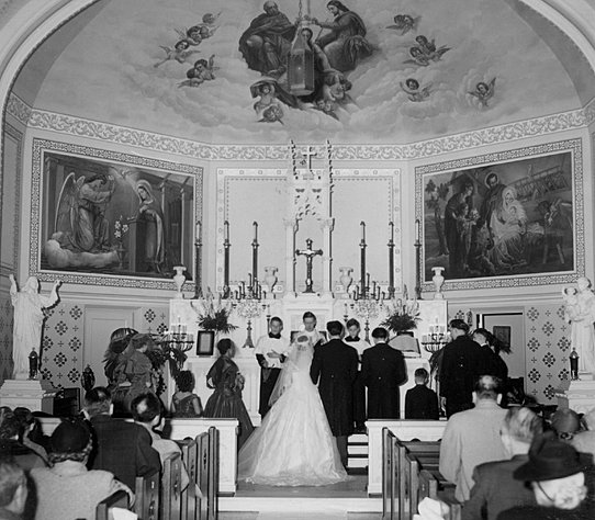 Wedding Altar History: St. Agnes And St. William Of York Catholic Churches