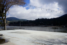Lakeside Party Deck