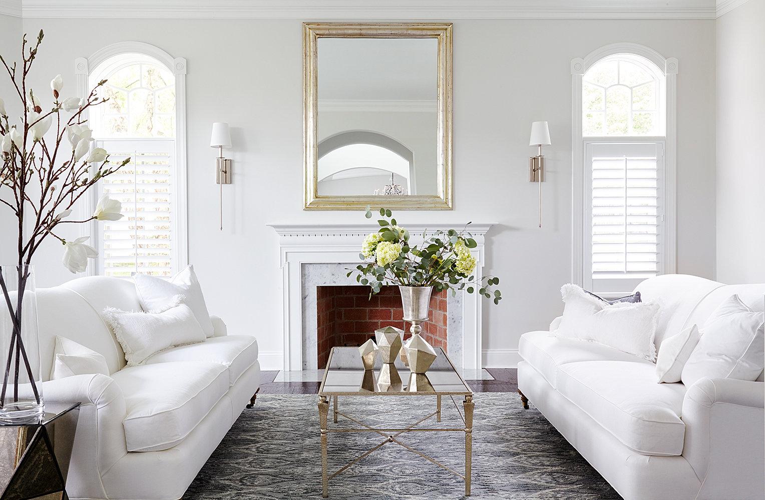 Shophouse design for B q living room mirrors