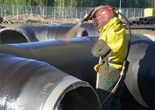 Технология нанесения эмали протектор на бетон