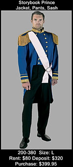 Blue Storybook Prince