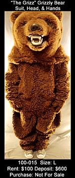 The Grizz Mascot