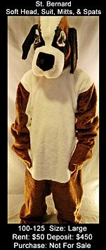 St. Bernard - Soft Head Dog