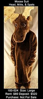 Moose Mascot - Canada