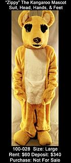 Kangaroo Mascot - Australia