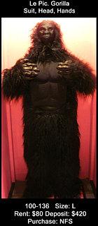 Le Pic Gorilla - Black