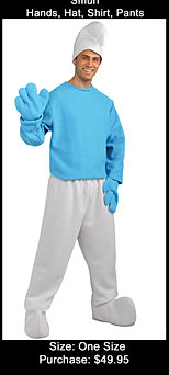Smurf Suit Buy Only
