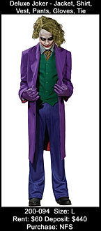 Deluxe Joker - Dark Knight, Batman
