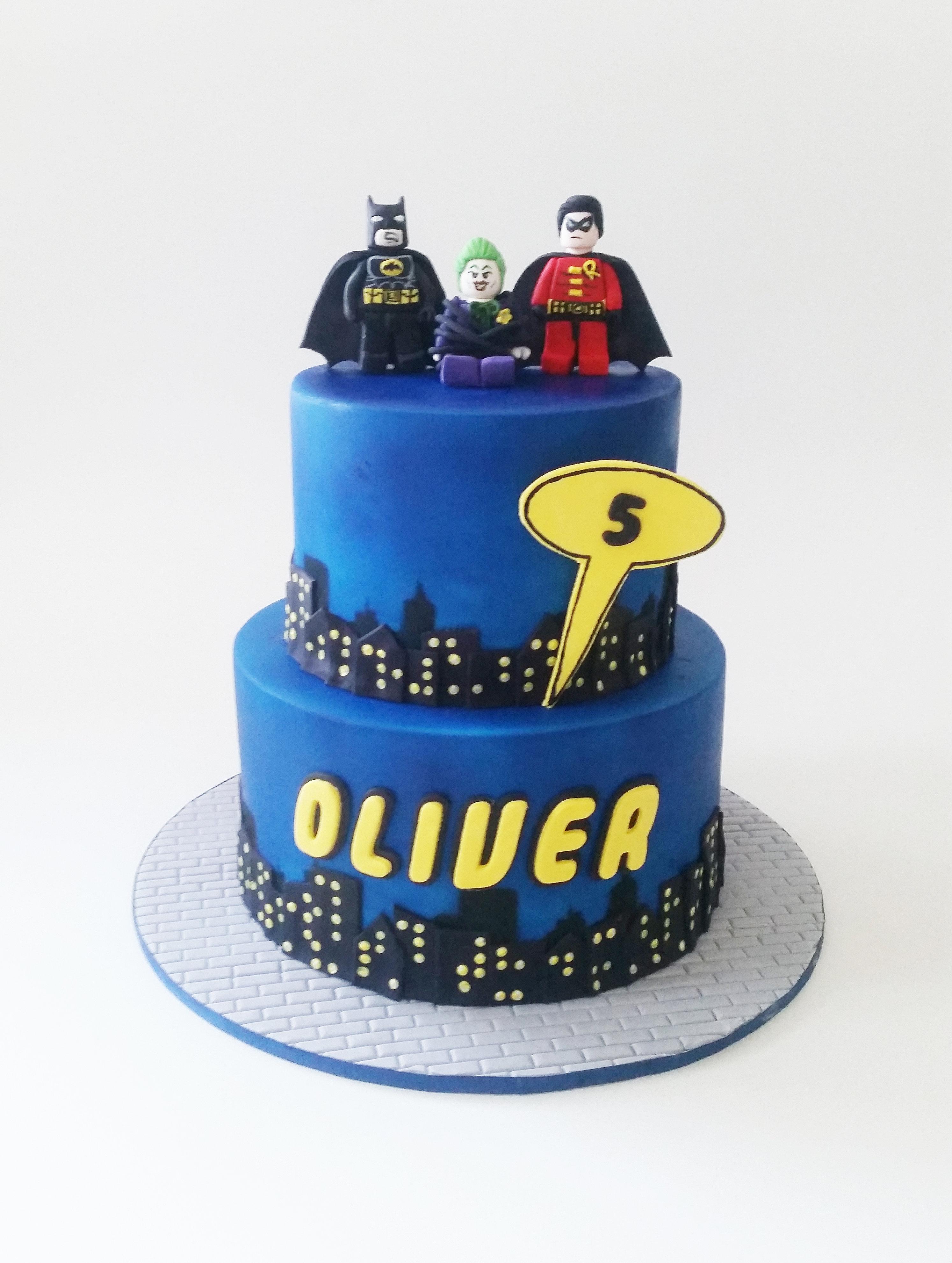 Batman Lego Cake Images