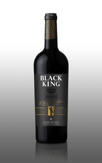 Black king red dessert