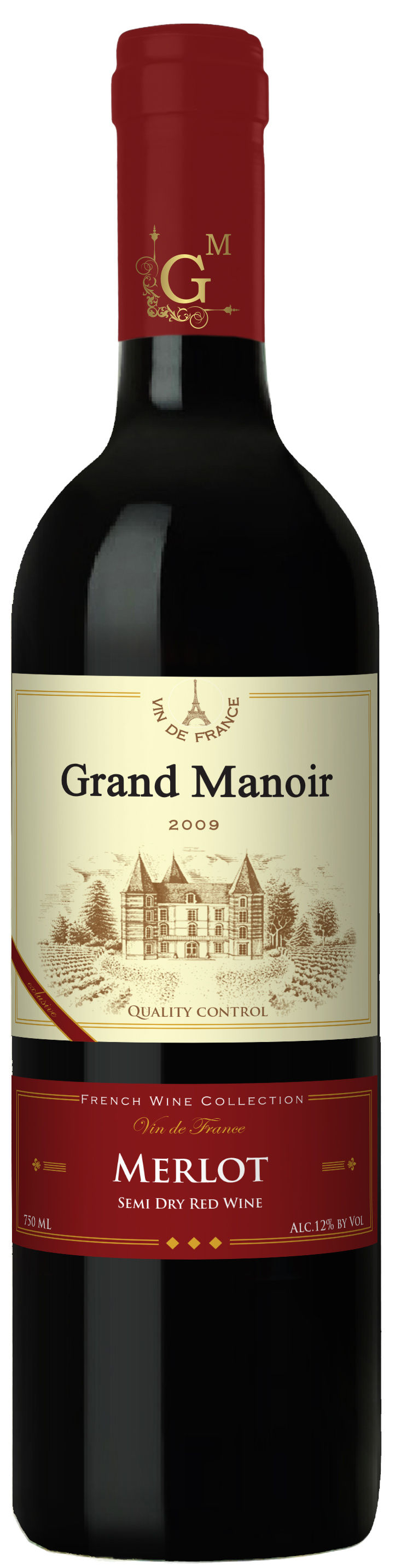Grand Manoir Merlot semi dry