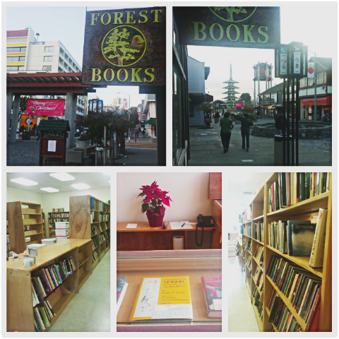 Forest Books in Japantown