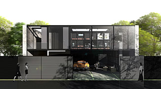 Khun Nat's house