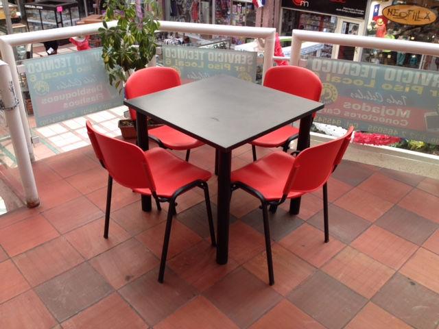 Mesas y sillas cafeteria mobiliario restaurant sillas de oficina santiago chile color dise o - Sillas para cafeteria ...