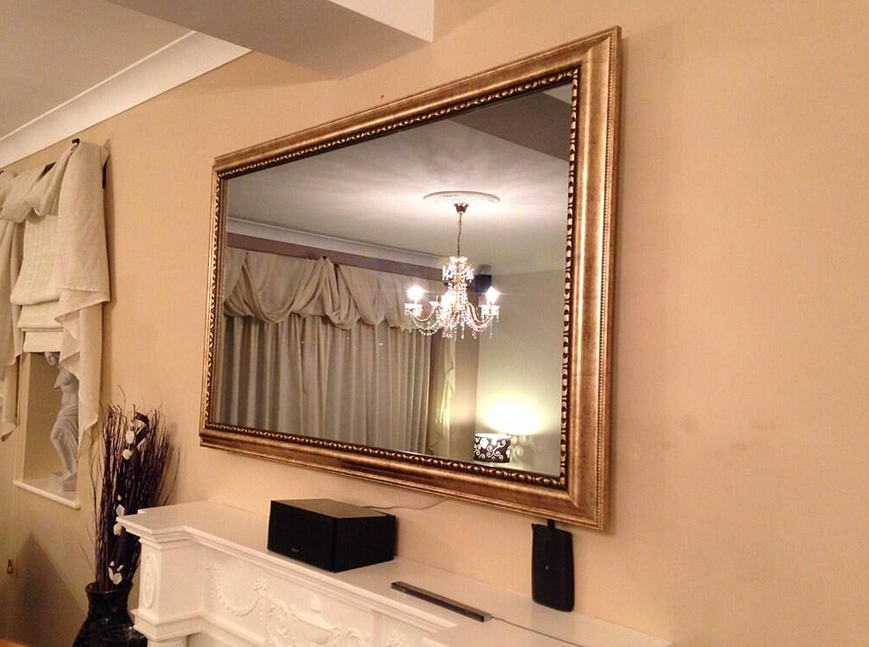 Tv frames mirror tv tv mirror for Mirror screen