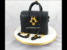 Black Mulberry Cara Delevingne Quilted BackPack Bag Cake bbkakes 3