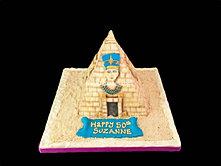 Queen Nefertiti  Pyramid Cake bbkakes