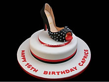 Christian Louboutin Stud Shoe cake