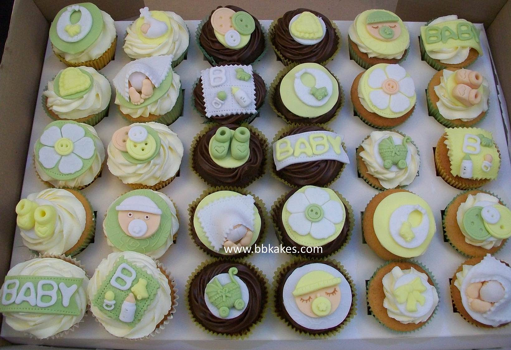 Unisex Baby Shower Cupcakes Mix