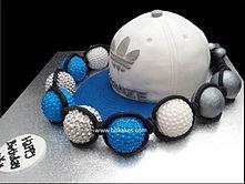 Adidas Snapback Cake