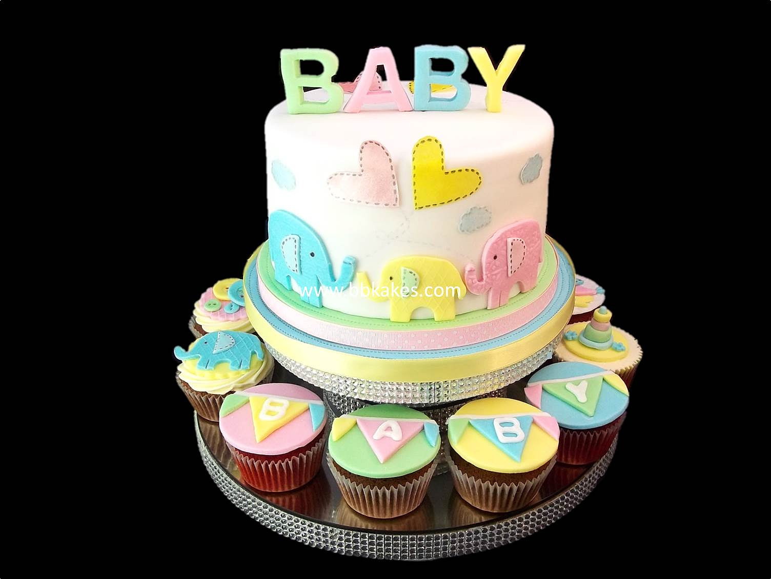 Unisex Baby Shower Cupcakes : Cakes, North London, Corporate Cakes and Cupcakes Unisex ...