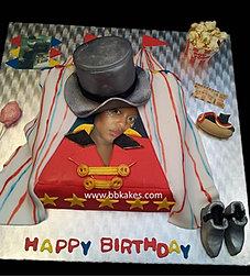Circus Ring Master Cake