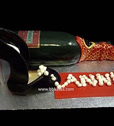Piper-Heidsieck Champagne cake