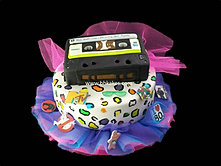 80s Theme two tier Cassette Cake bbkakes 1.jpg