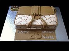 Gucci Print Marakech Bag cake
